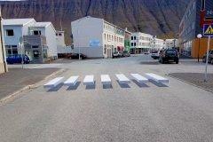 isafjordur paso de cebra en 3D