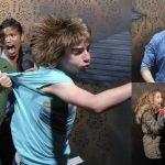 reacciones personas casa del terror