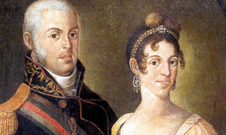 Carlota Joaquina y Juan VI