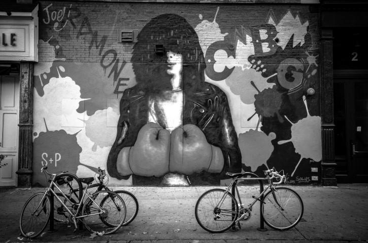 Joey Ramone mural nueva york