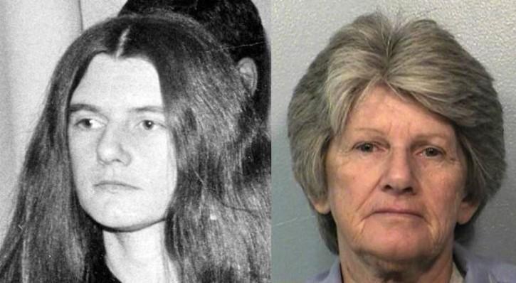 Patricia Krenwinkel antes y ahora