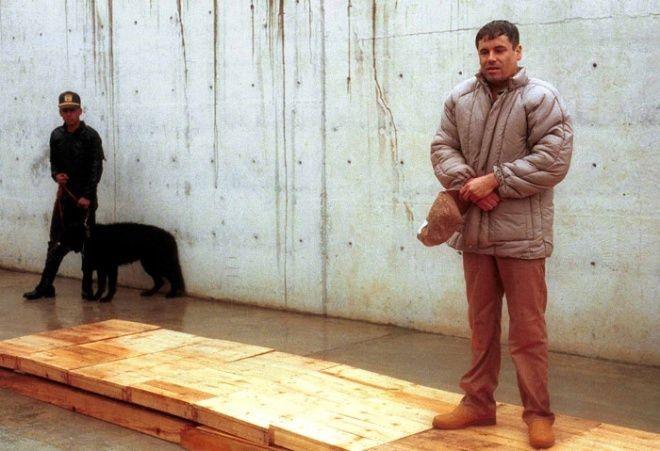 chapo 1993 prision gorra