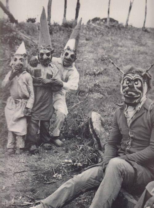 disfraces aterradores del pasado