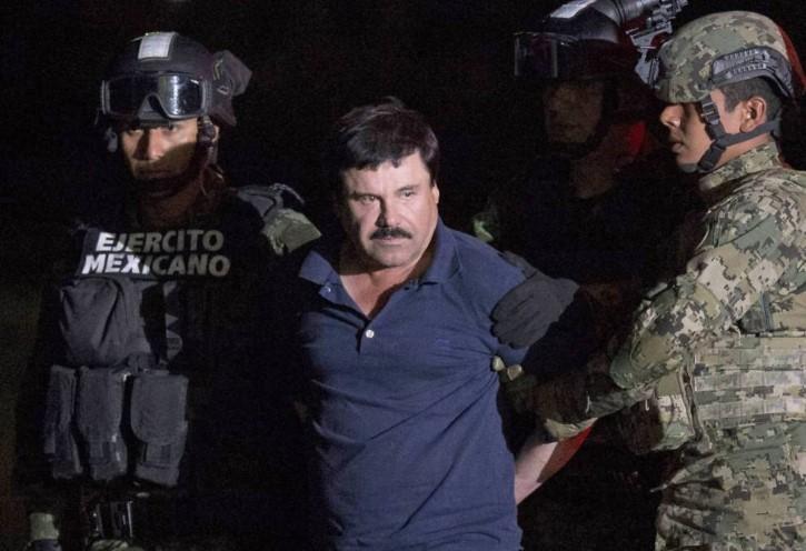 el chapo detenido 2016