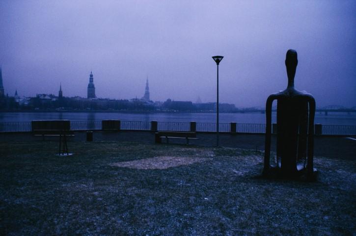 escultura en una ciudad