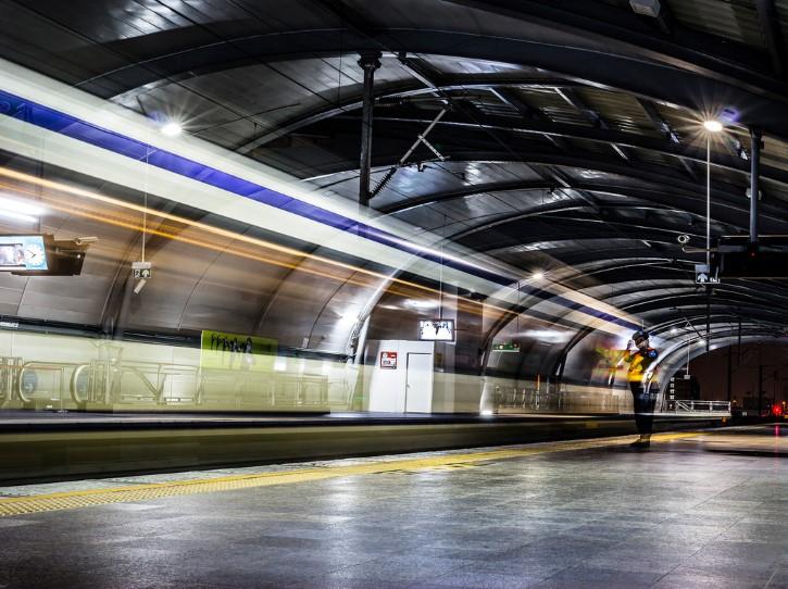 fantasma aparicion estacion de tren