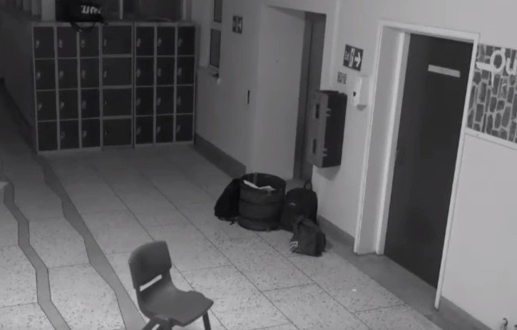 fantasma en escuela de irlanda