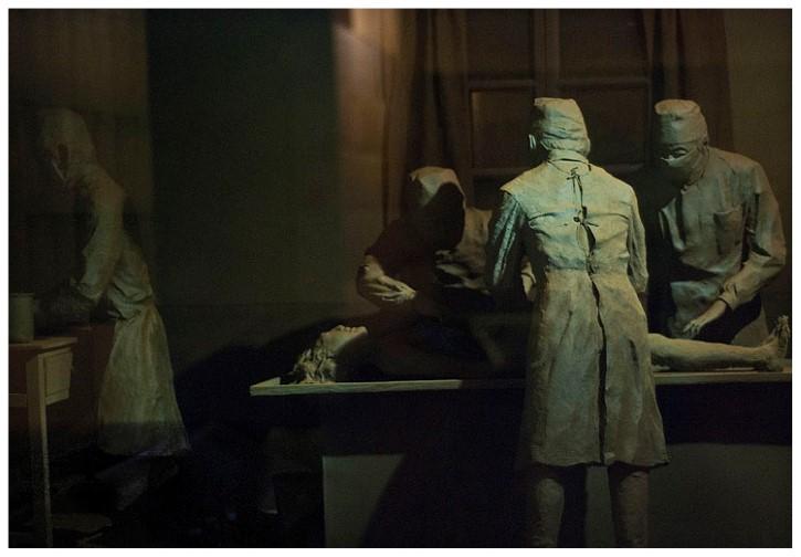 figuras experimentos unidad 731 museo