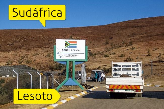 fronteras secretas lesoto sudafrica