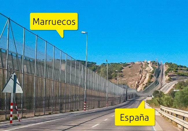 fronteras secretas marruecos españa