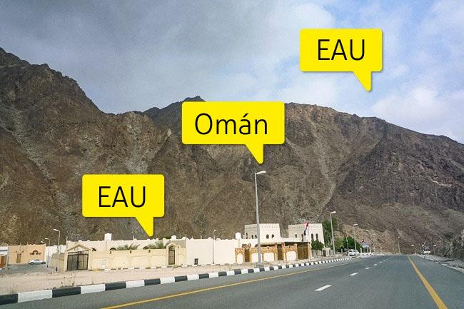 fronteras secretas oman emiratos arabes unidos