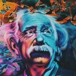 graffiti de alber einstein