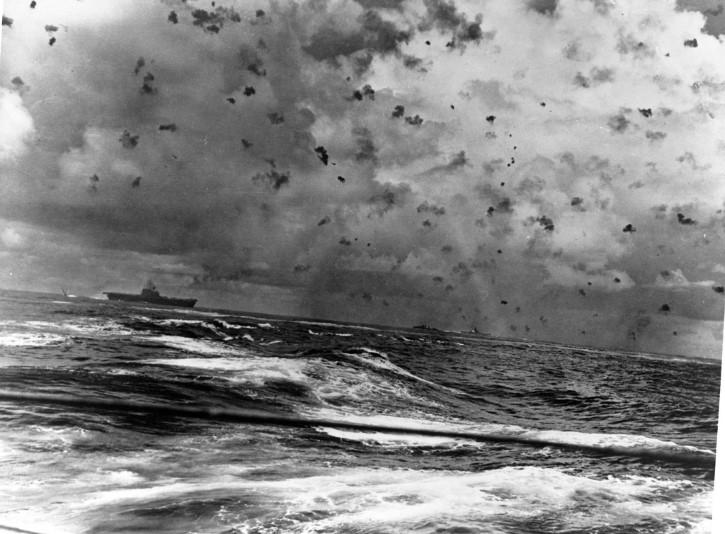 guerra en el oceano
