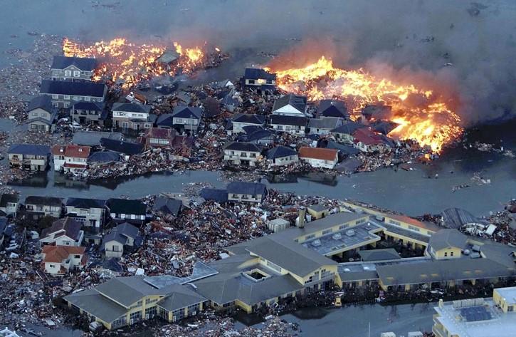 inundaciones en tohoku japon marzo 2011 tsunami