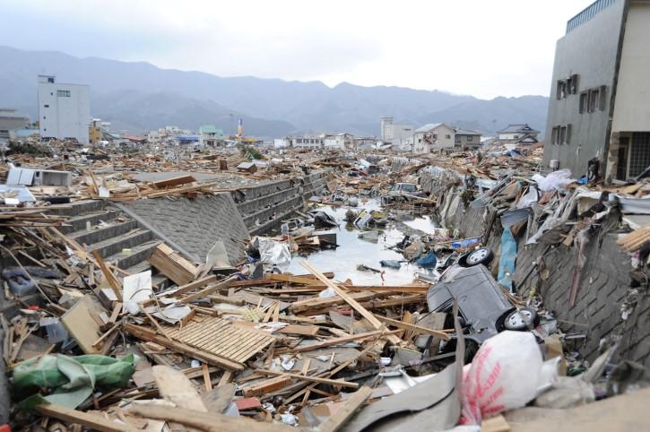 inundaciones tsunami en japon