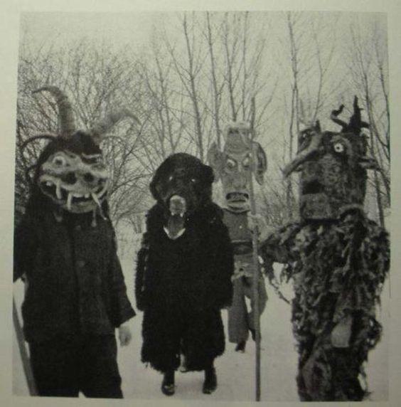 mascaras aterradoras del pasado