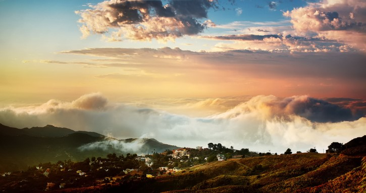 paisaje Rapture, Malibu ca
