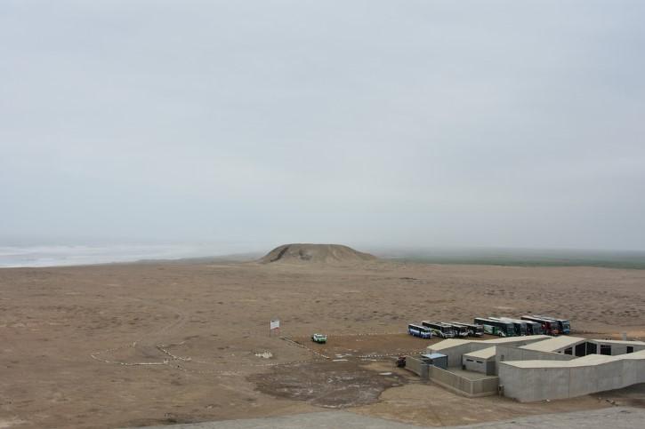sitio arqueologico El Brujo en huaca prieta