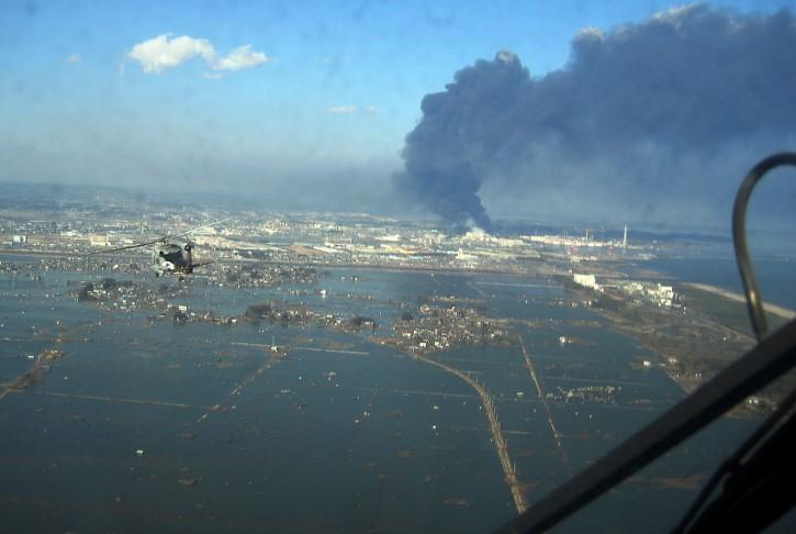 tsunami en la ciudad de sendai