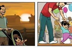 un comic sobre crecer por dan dougherty portada2