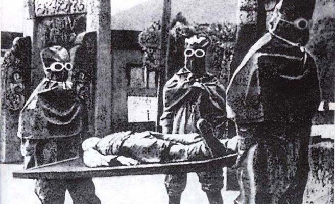 unidad 731 cadaver traslado