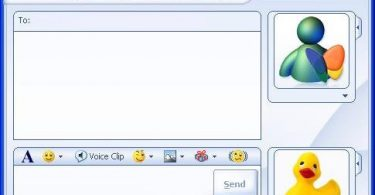 ventana chat mesn messenger