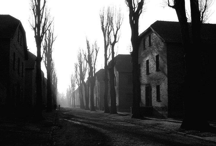 Auschwitz sombrio