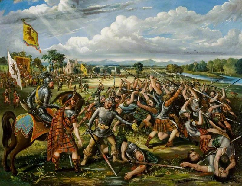 Batalla de los Clanes Escocia