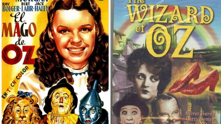 El mago de Oz peliculas 1939 y 1952
