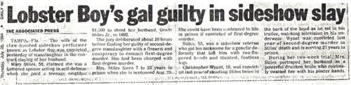 Grady Stiles asesinato periodico