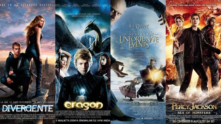 adaptaciones al cine libros para adultos jovenes