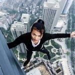 chino escalador rascacielos muere