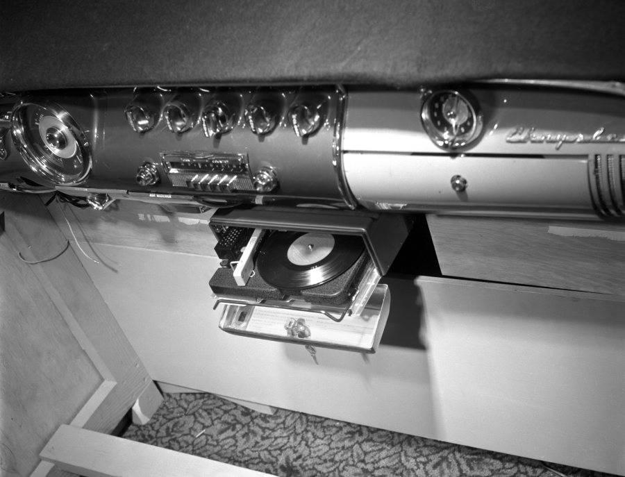 chrysler fonografo