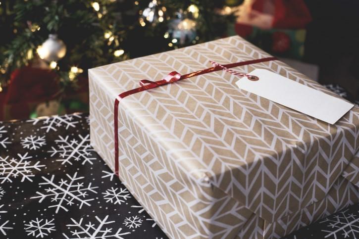 envoltura regalo navidad