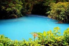 fotografia rio celeste costa rica azul hermoso