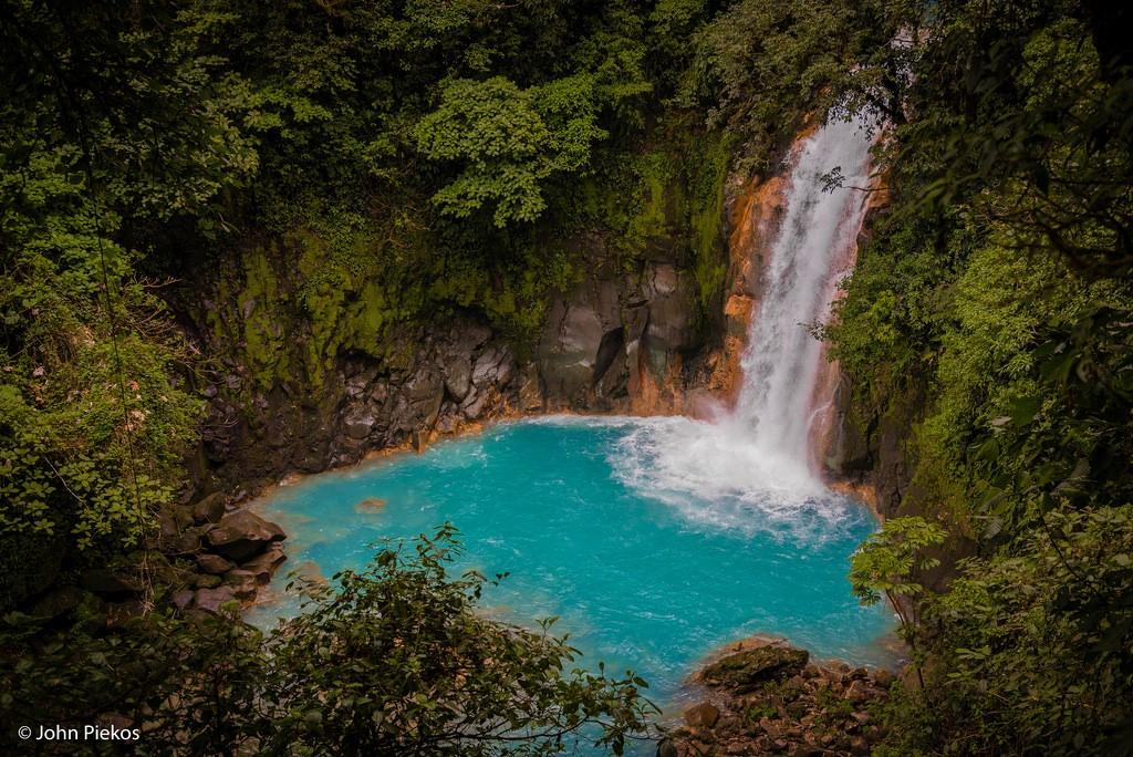 fotografia rio celeste costa rica cascada maravillosa