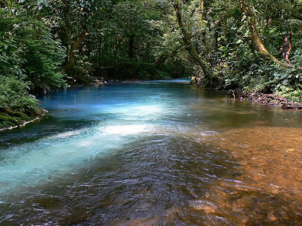fotografia rio celeste costa rica mezcla de colores