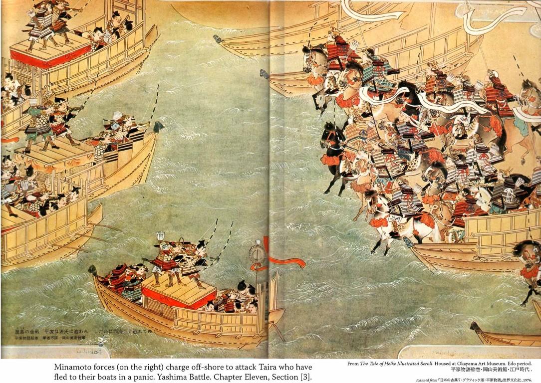 guerra Taira y Minamoto