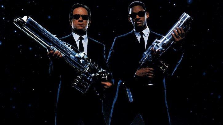hombres de negro agentes