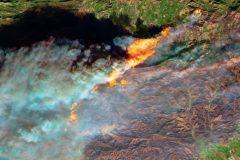 imagenes satelitales incendios california 2017 (1)