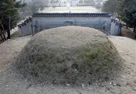 muro en el cementerio