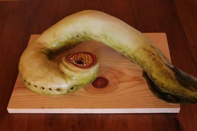 pasteles animal con dientes