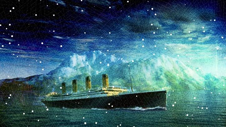 titanic pintura