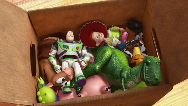 toy story 3 caja a sunnyside