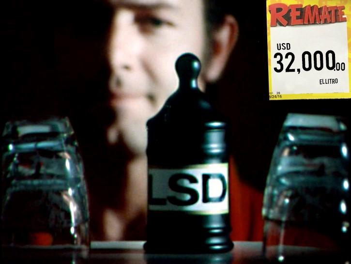 LSD en un frasco