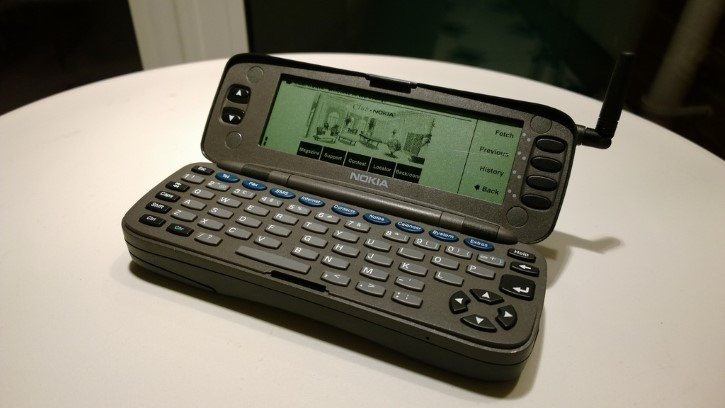 Nokia 9000 Communicator abierto
