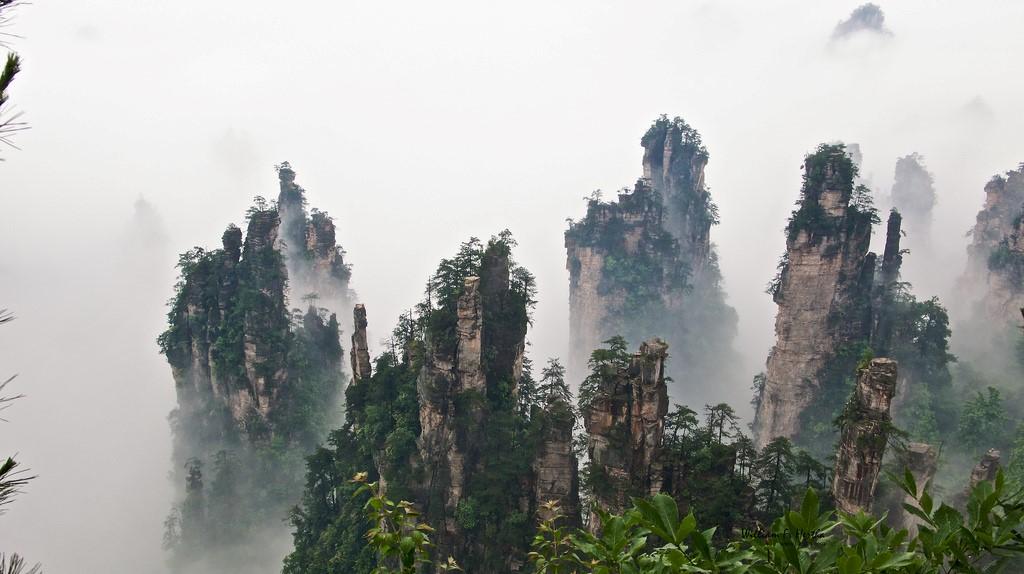 Tianzi montañas