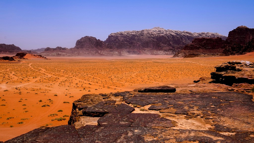 Uadi Rum desierto