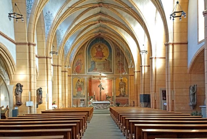 altart en la iglesia de Gangolf