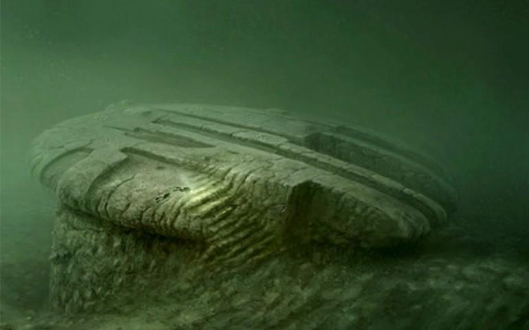 anomalia en el mar baltico